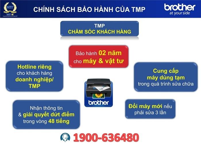 Chính sách bảo hành của TMP