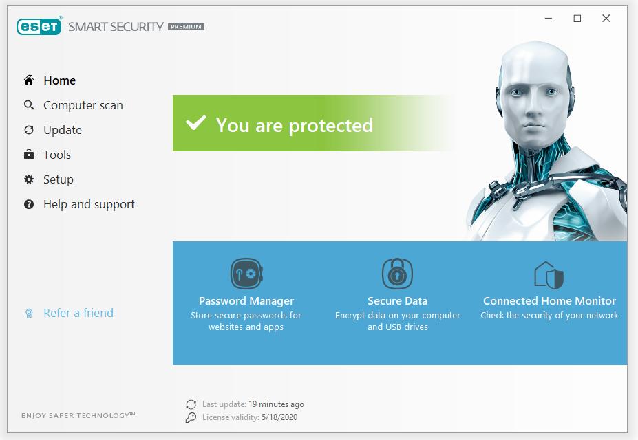 Phần mềm eset smart security
