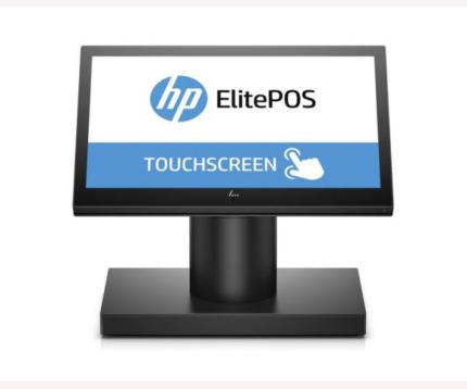 Máy tính tiền hp elitepos g1 retail system model 145
