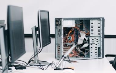 Bảo trì máy tính kcn tân bình
