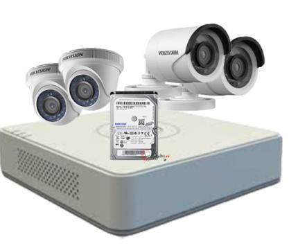 Camera hikvision 4 mắt hd 1.0m