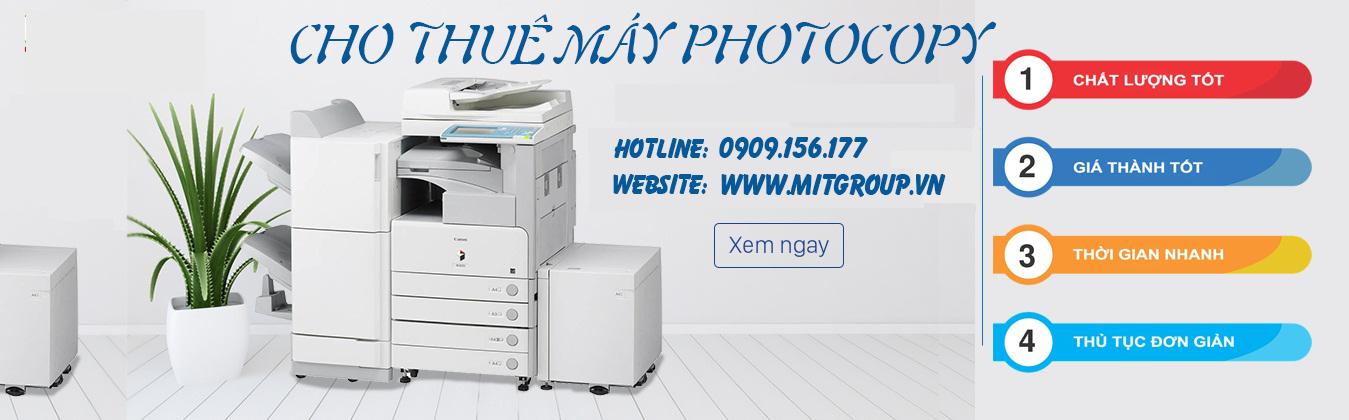 Thuê Máy Photocopy Tại Bình Dương