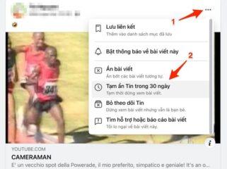 Ẩn các bài viết phiền phức trên facebook